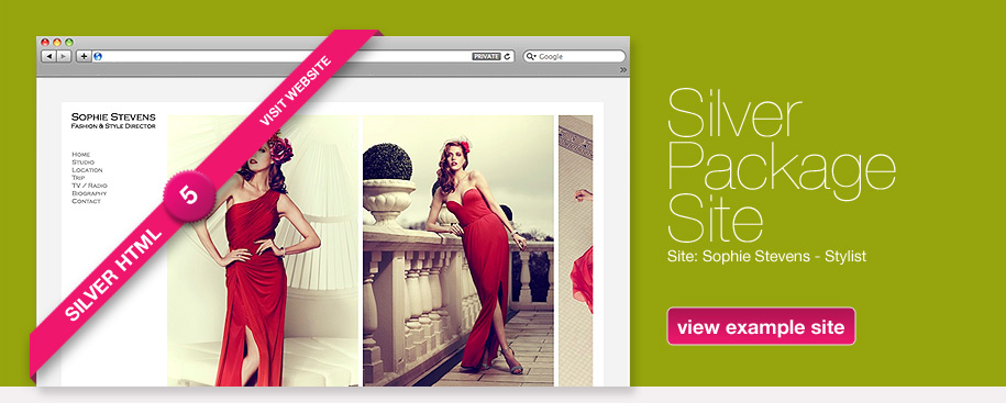 Silver Package Site - Sophie Stevens - Fashion & Style Director